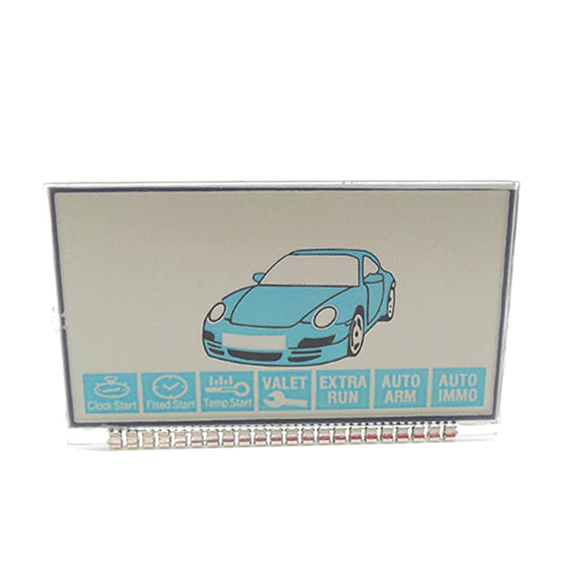 Russian Version B9 Lcd Display For Starline B9 Lcd Remote Two Way Car Alarm System