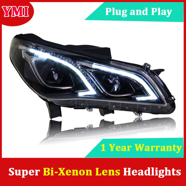 Headlights For Hyundai Sonata 9 2017 2016 Led Headlight Head Lamp Daytime Running Light Drl Bi Xenon Hid