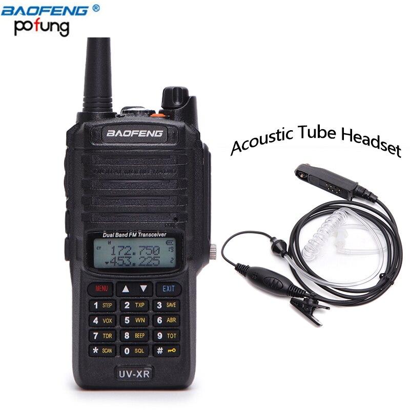 Baofeng UV-XR 10W Powerful cb Radio set IP67 Waterproof Walkie Talkie 10KM Long Range UV-XR Two Way Radio With Acoustic headset