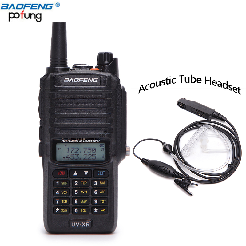 Baofeng UV-XR 10W Powerful cb Radio set IP67 Waterproof Walkie Talkie 10KM Long Range UV-XR Two Way Radio With Acoustic headset