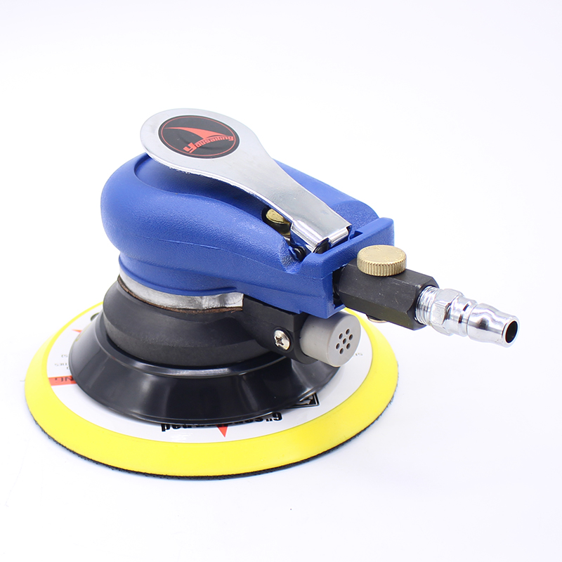 "Image 3 - 6 Inches Air Sander Pneumatic Polishing Machine 6"" Air Polisher Grinder Tool-in Pneumatic Tools from Tools on"