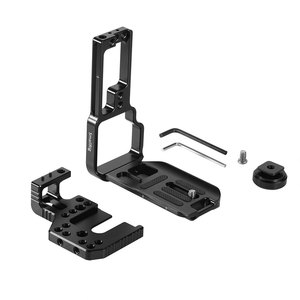 Image 2 - SmallRig L Bracket for Sony A7III/A7RIII Camera and Battery Grip Quick Release Half Cage With Top Plate+L Plate  2341