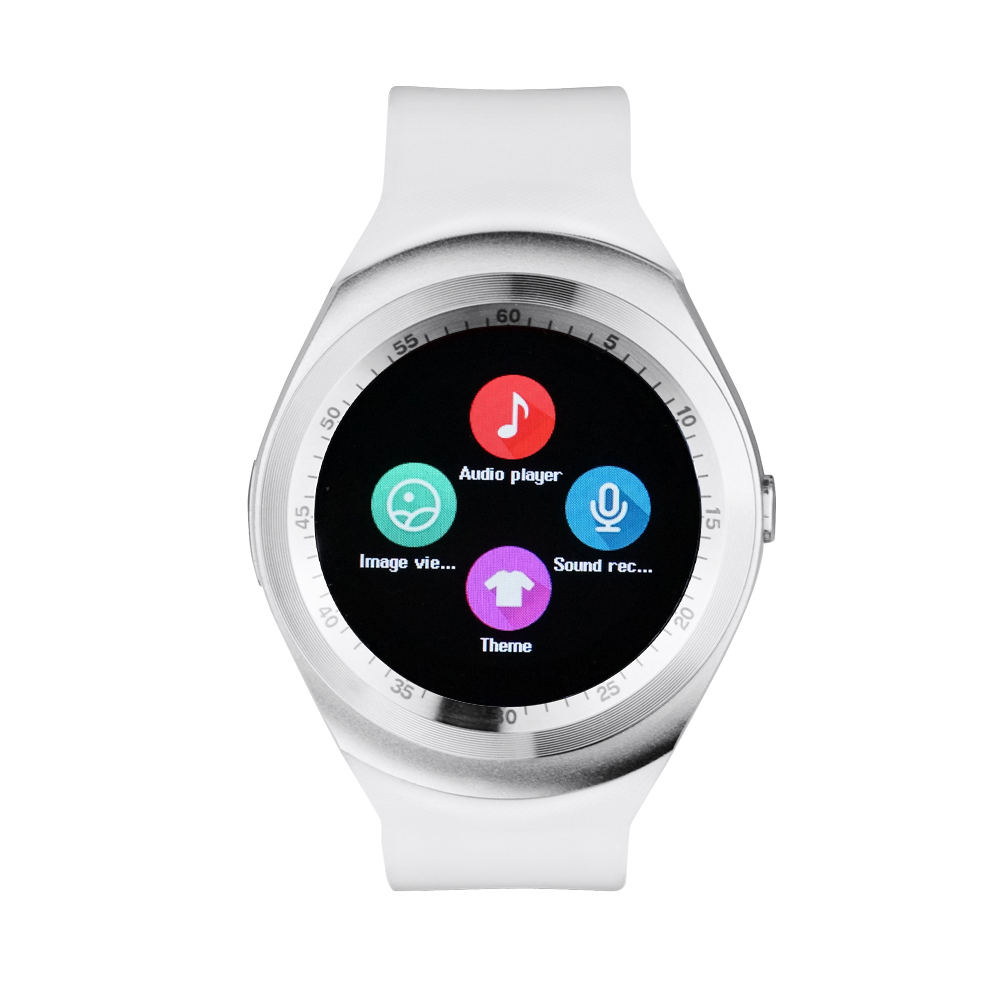 Yuntab Y1 Smart Watch Bluetooth Sleep Monitor Pedometer 1 54 inch Touch Screen for IOS Android