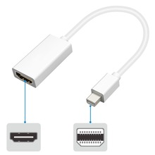 JCKEL Mini DisplayPort to HDMI Male to Female Mini DP to HDMI Cable M DP Converter Adapter for PC Macbook 1080P HDTV Projector цена и фото