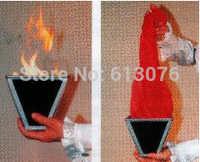 Multi Cone - Fire Magic Tricks Scarve Silk Appearing Magia Stage Illusions Gimmick Props Accessories
