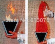Multi Cone Fire Magic Tricks Scarve Silk Appearing Magia Stage Illusions Gimmick Props Accessories