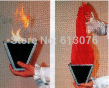 Multi Конус Огня, scarve магию, крупным планом, иллюзии, шелк магия, Аксессуары