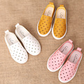 New Boys Girls Sport Shoes Kids Sneakers Shoes Soft Sole Slip On Loafers Shoes Baby Boat Children Shoes tx0396
