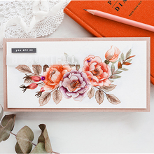Inlovearts 2018 New Stamp And Dies Beautiful Flower Letter Clear