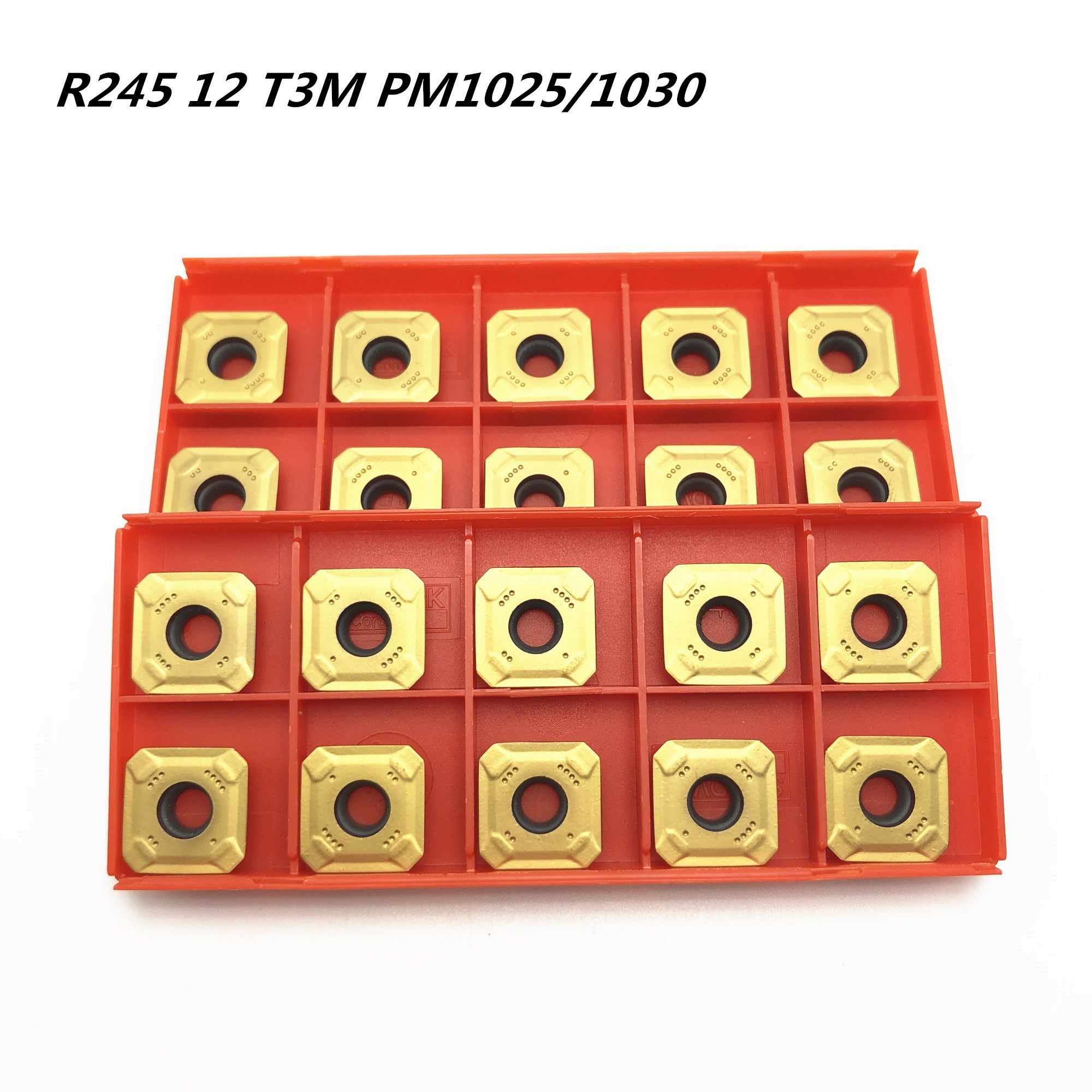 Milling cutter R245-12T3M-PM 1025 1030 4240 high quality carbide milling cutter R245 12T3 CNC lathe cutterMilling cutter R245-12T3M-PM 1025 1030 4240 high quality carbide milling cutter R245 12T3 CNC lathe cutter