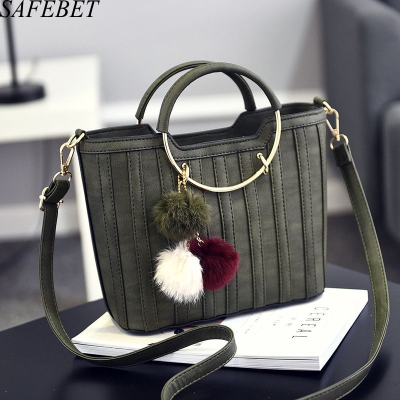 SAFEBET Brand 2017 Ladies Hand Bags PU Leather Women Bag Casual Tote Shoulder Bags New Fashion Luxury Handbags Large Tote Bag 2017 new women leather handbags fashion shell bags letter hand bag ladies tote messenger shoulder bags bolsa h30