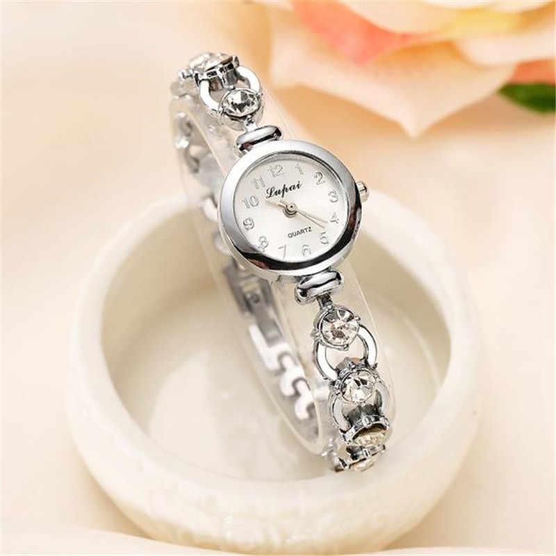 Relojes de señora 2019 nuevo LVPAI de alta calidad de marca de Venta caliente mujeres chicas mujeres Montres mujer pulsera Montre reloj 30X