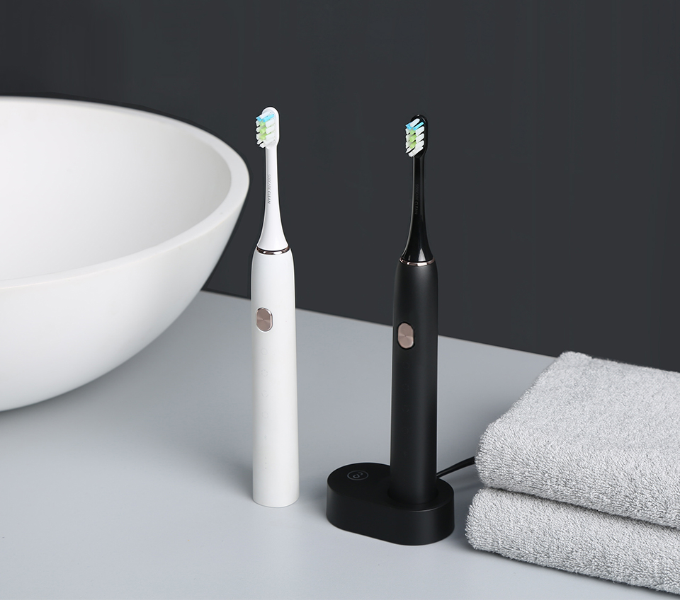 Soocas X3 sonic แปรงสีฟันไฟฟ้าชาร์จ USB อัพเกรดกันน้ำ Ultra sonic อัตโนมัติฟันแปรงเปลี่ยนหัวแปรง-ใน แปรงสีฟันไฟฟ้า จาก เครื่องใช้ในบ้าน บน   2