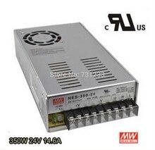 Fuente de alimentación conmutada 350 W 24 V 14.6A salida única NES-350-24 para bordado grabador impresora Plasma Kits del ranurador del CNC