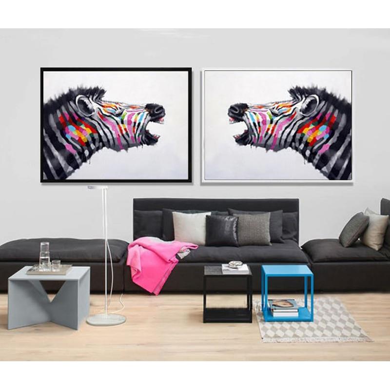 Cēzara eļļas glezna mūsdienu eļļas glezna uz audekla abstrakta - Mājas dekors - Foto 3