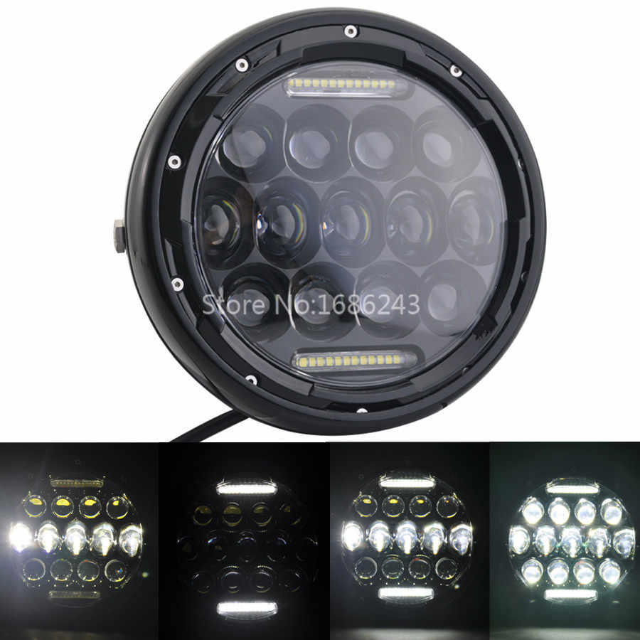 Led Headlight High Low Beam Light Halo