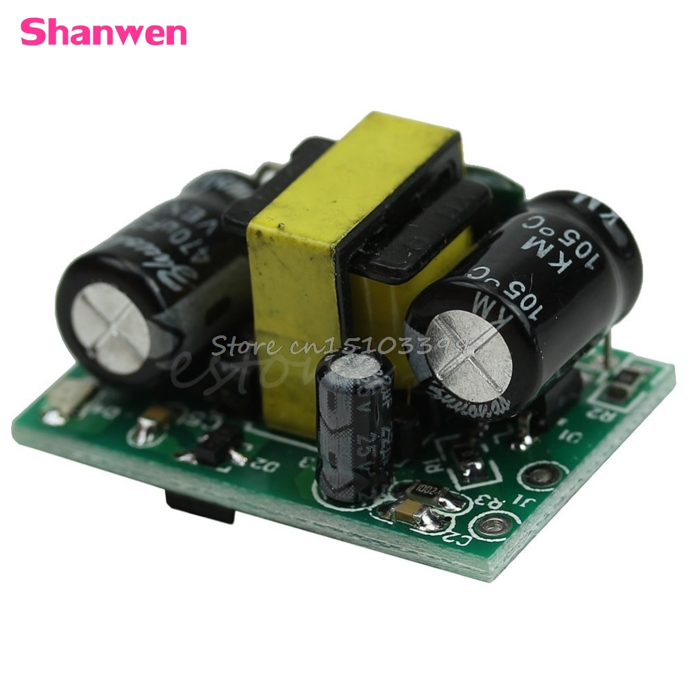 AC DC Buck Converter Step Down LED Isolation Power Supply Module 12V 400mA 3W Drop shipping #G205M# Best Quality free shipping new and original vi 25v 02 dc dc isolation power supply module