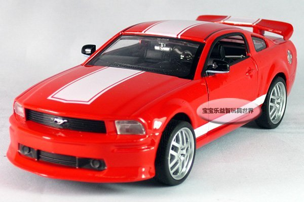 free shipping 132 ford mustang gt sports car acousto optic