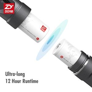 Image 4 - ZHIYUN الرسمية رافعة زائد 3 المحور يده Gimbal استقرار ل المرايا DSLR كاميرا لسوني A7/باناسونيك لوميكس/نيكون J/كانو