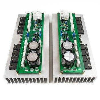 New 2pcs PR-800 Class A / Class AB Professional stage power amplifier board with heatsink