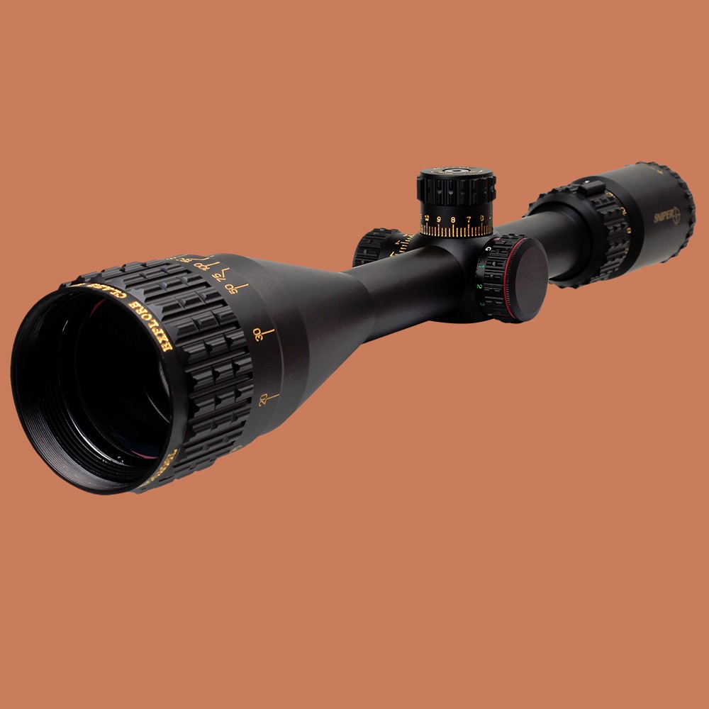 Hunting Tactical Optical Sight SNIPER NT 6-24X50 AOGL Full Size Glass Etched Reticle RGB llluminate Rifle Scope 1