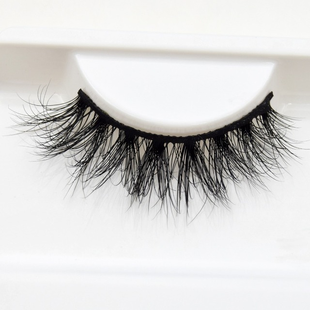81427c02dd6 Visofree Mink Eyelashes Natural Lightweight 3D Mink Lashes Crisscross  Natural Flutter Effect False Eyelashes Cruelty-