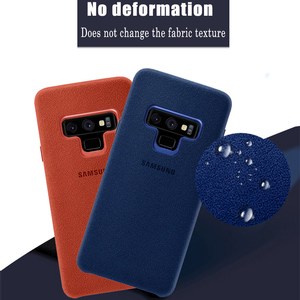 Image 3 - Samsung Note 9 Case 100% Original Genuine Suede Leather Fitted Protector Case Samsung Galaxy Note 9 Case Galaxy Note9 Cover