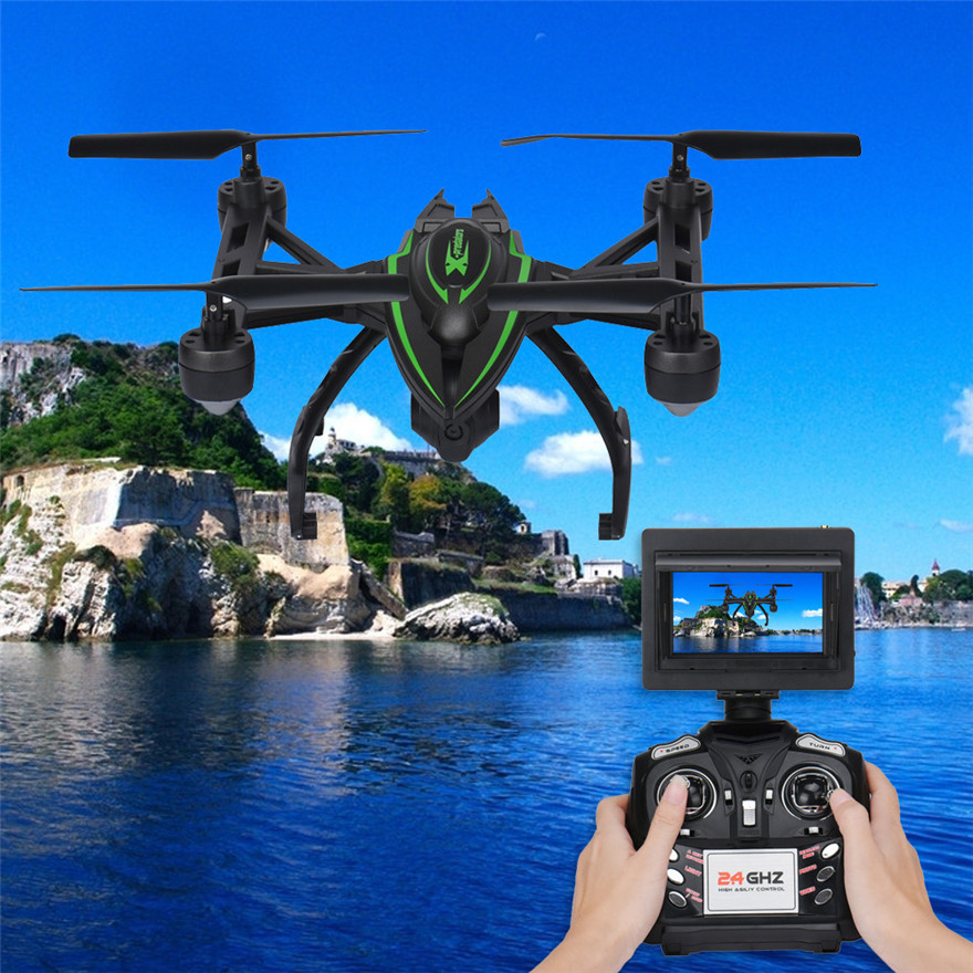 High Quqlity JXD 510G 5.8G 2.4GHz 4CH 6 Axis Gyro RC Quadcopter Barometer FPV 2.0MP Camera Gift For Children Toys Wholesale  high quqlity jjrc v686 5 8g fpv headless mode rc quadcopter with hd camera monitor gift for children toys wholesale