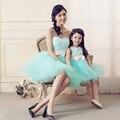 2017 Семья Соответствующие Наряды Милая Мать Дочь Платья Свадебные Платья Семья посмотрите Мать И Дочь Одежда