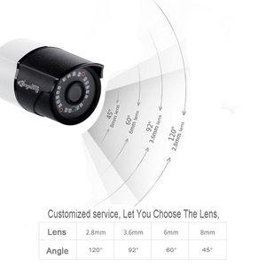 Image 3 - Kingkonghome ip câmera 1080 p poe metal ip câmera onvif câmera de segurança ao ar livre visão noturna cctv à prova dwaterproof água ao ar livre bala cam