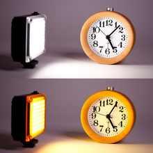 Ulanzi 112 DSLR LED Video Light With Color Filter Smartphone Youtube Live Vlog Fill Light On Camera Photography Studio Light