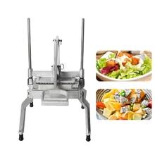 лучшая цена Manual Vegetable & Fruit Cutter Slicer Machine Stainless Steel Potato Lettuce Tools Kitchen Accessories Food Processors