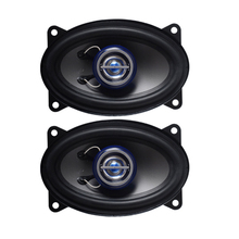 2pcs/lot Car Audio 4x6 Inch 2 Way Speaker Coaxial Full-range 4ohm  Universal Modified Auto Stereo Speakers Free Shipping