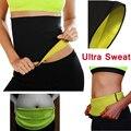 Nueva adelgaza las correas de cintura de neopreno body shaper corsés cincher entrenador promover el sudor traje de fitness mujeres de la venta caliente