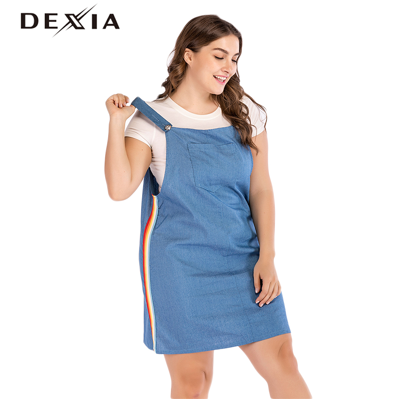 b8446e7b79d Buy long sleeveless denim dress and get free shipping on AliExpress.com