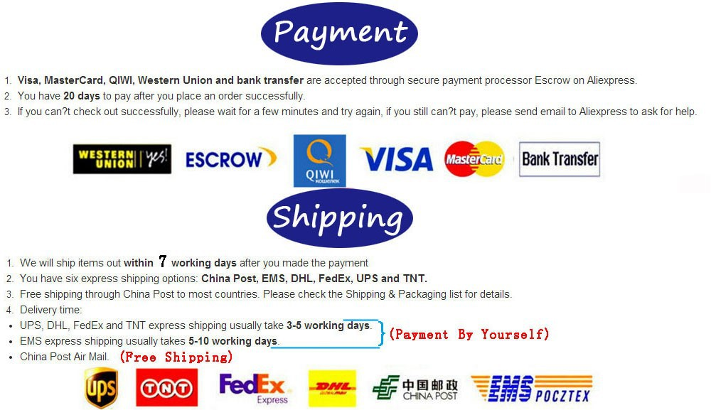 payment&shipping