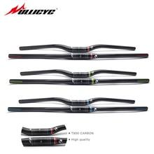 купить New HOT Carbon Fiber MTB Handlebar Mountain Bike Bars 31.8*580-740mm Bicycle Accessories 3k Finish Cycling One Handleba CB314 дешево