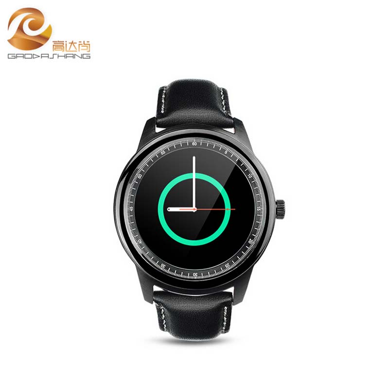 2016 Latest font b smartwatch b font DM365 upgrate of DM360 MTK2502A capacitive touch screen bluetooth