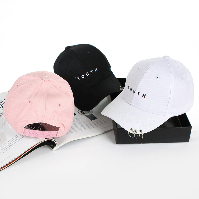 KPOP New Hot Bigbang G-dragon Mens Baseball Cap Adjustable Hoop Strapback Hat