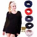 Nova Malha Cabeça Turbante para As Mulheres Ear Warmer Faixa de Cabelo Torção Turbante Cabeça Wraps Acessórios