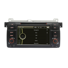 7″ HD Capacitive Touch Screen Car DVD Player GPS Navigation for BMW E46 M3 GPS Bluetooth Radio RDS USB IPOD with Original BMW UI