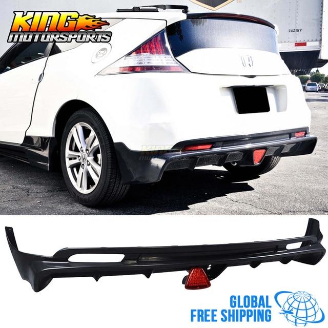For 2017 11 12 13 14 Honda Crz Cr Z 2dr Mug Rear Per Lip Spoiler Black Abs Global Free Shipping Worldwide
