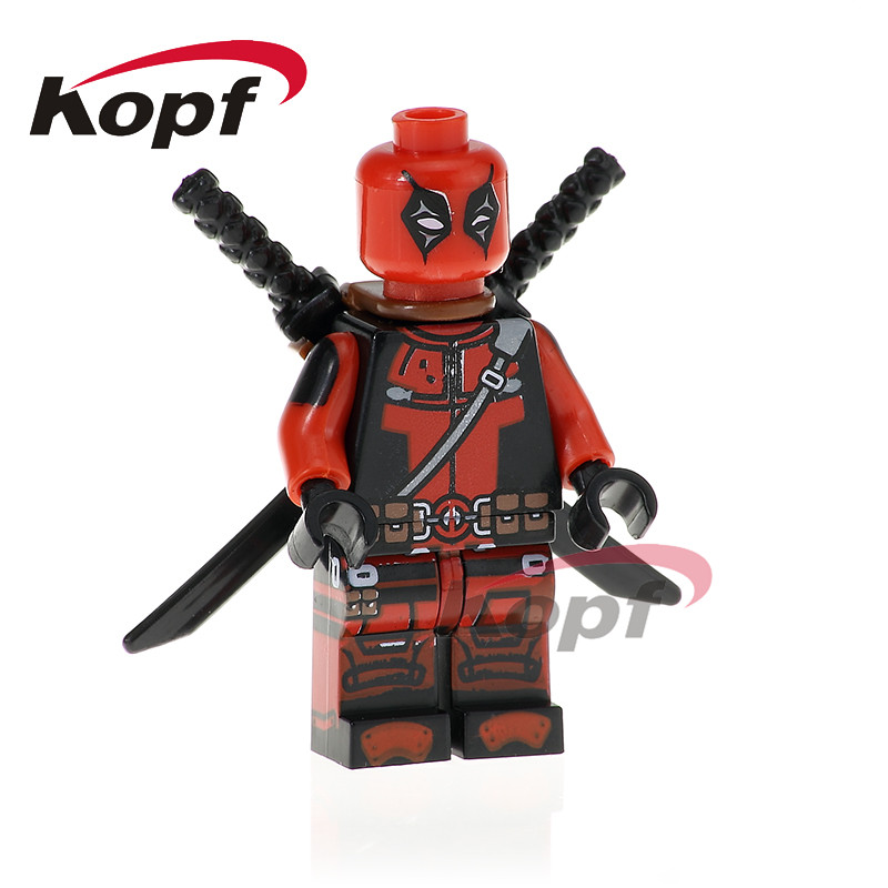 Steady Single Super Hero Bane Figure Wolverine Deadpool Miss America Captain Batman Building Blocks Models Bricks Toys For Children Discounts Sale Toys & Hobbies
