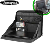 Travel Car Laptop Holder Hippo Tray Bag Mount Back Seat Auto Food Work Table Organizer