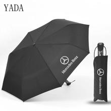 YADA Новый Mercedes-Benz автоматический зонт дождь Для женщин УФ-высокое качество зонтик автомобиль для Для мужчин ветрозащитный складные зонты мужские YS317