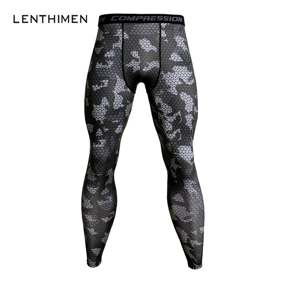3D Camo Joggers Men Sweatpants Quick Dry Bodybuilding Jogger Pants Men Soft Legging Crossfit Trackpants Compression Pants MMA