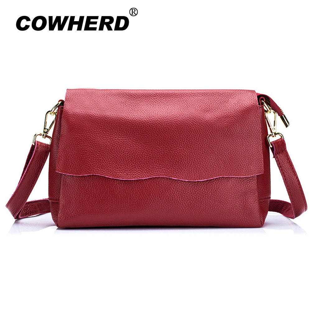 Cowhide Genuine Leather Women Messenger Bags Tassel Crossbody Bag Female Fashion Shoulder Bags Big Capacity Lady Clutch Handbags fashion leather handbags luxury head layer cowhide leather handbags women shoulder messenger bags bucket bag lady new style