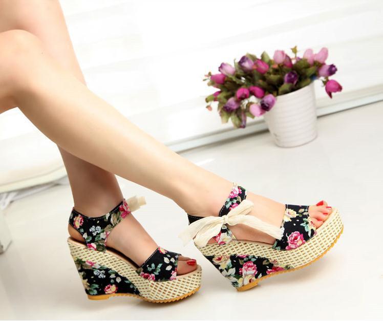 chaussure d\u0027ete femme ouverte