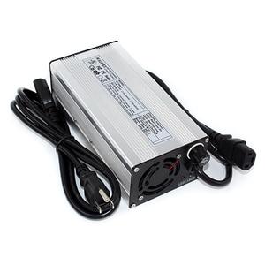 Image 2 - 75.6 v 4a carregador de bateria de lítio para 18 s 66.6 v bicicleta elétrica li ion carregador de bateria