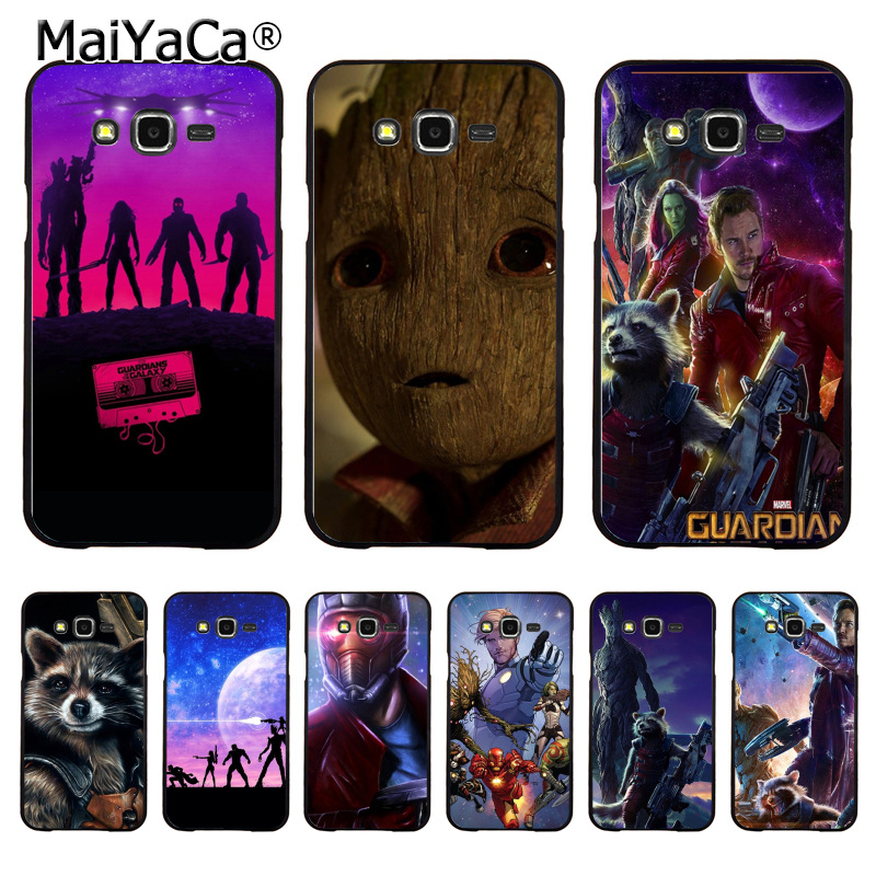 MaiYaCa Guardians of the for Galaxy Pattern Hard Phone Case for samsung J5 j1 j3 j7 note 3 note4 note5 case coque